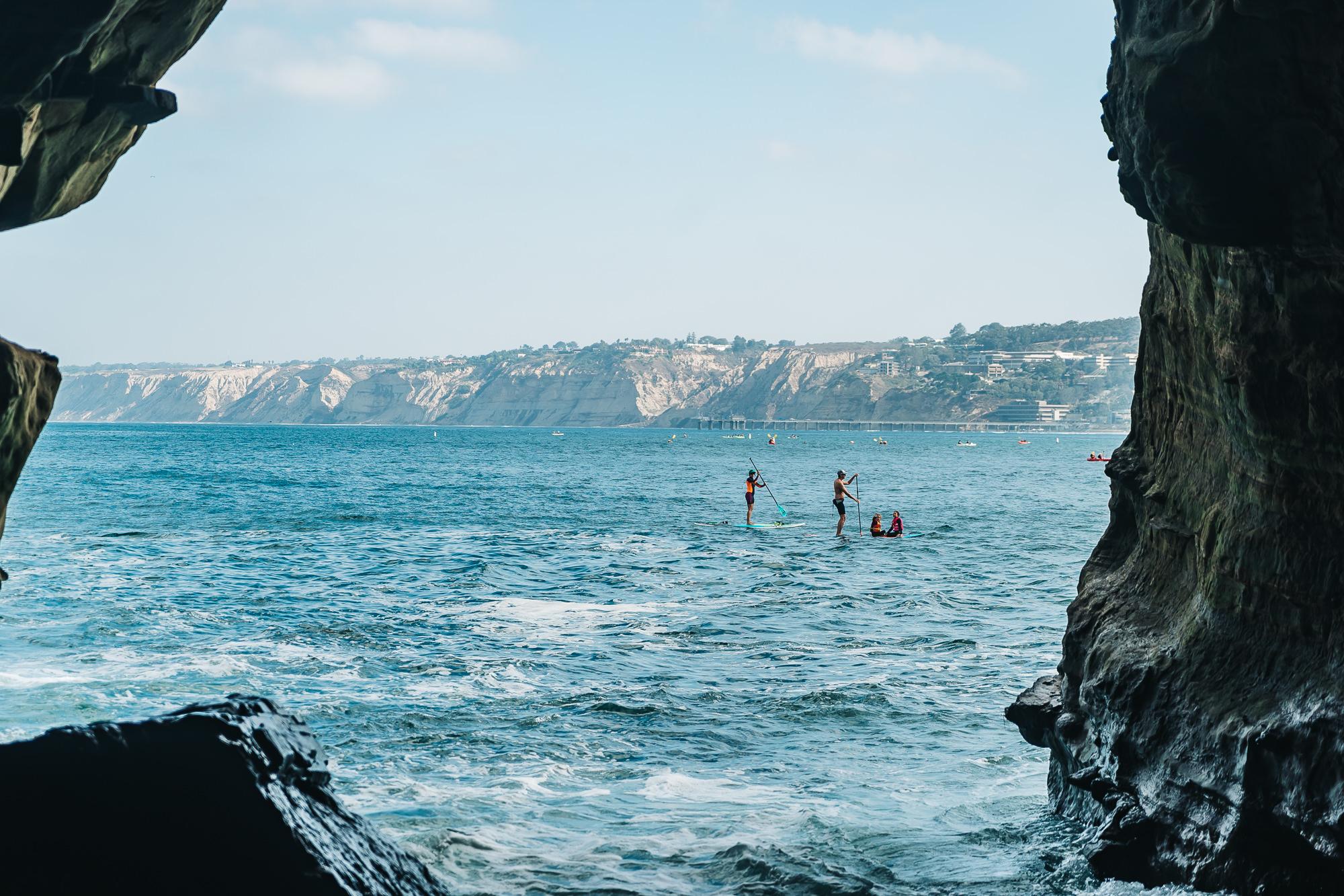Sunny Jim Cave in La Jolla, California