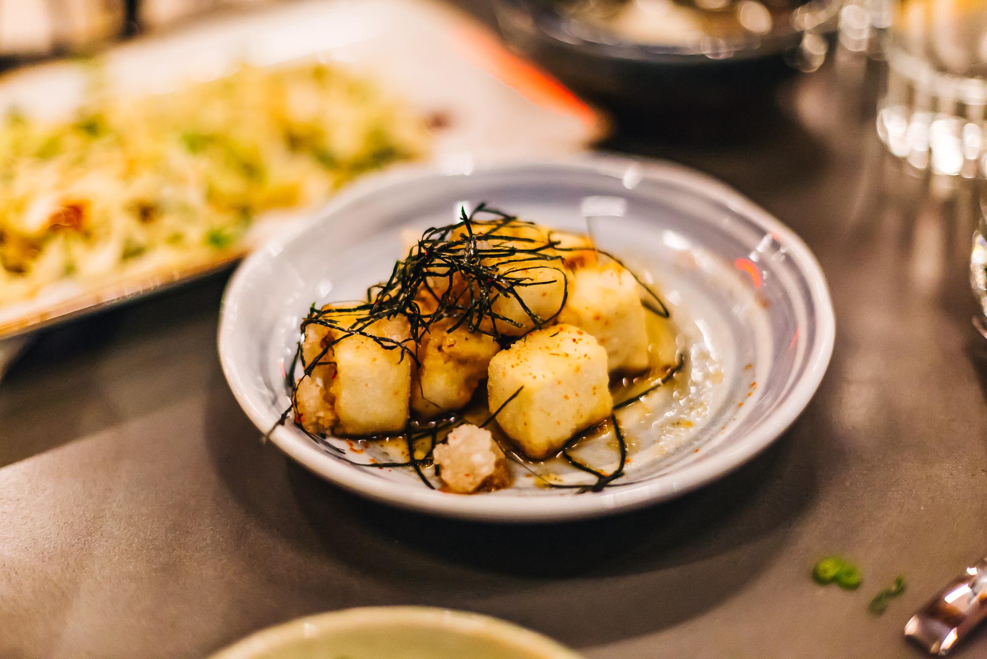 Agedashi tofu - fried tofu