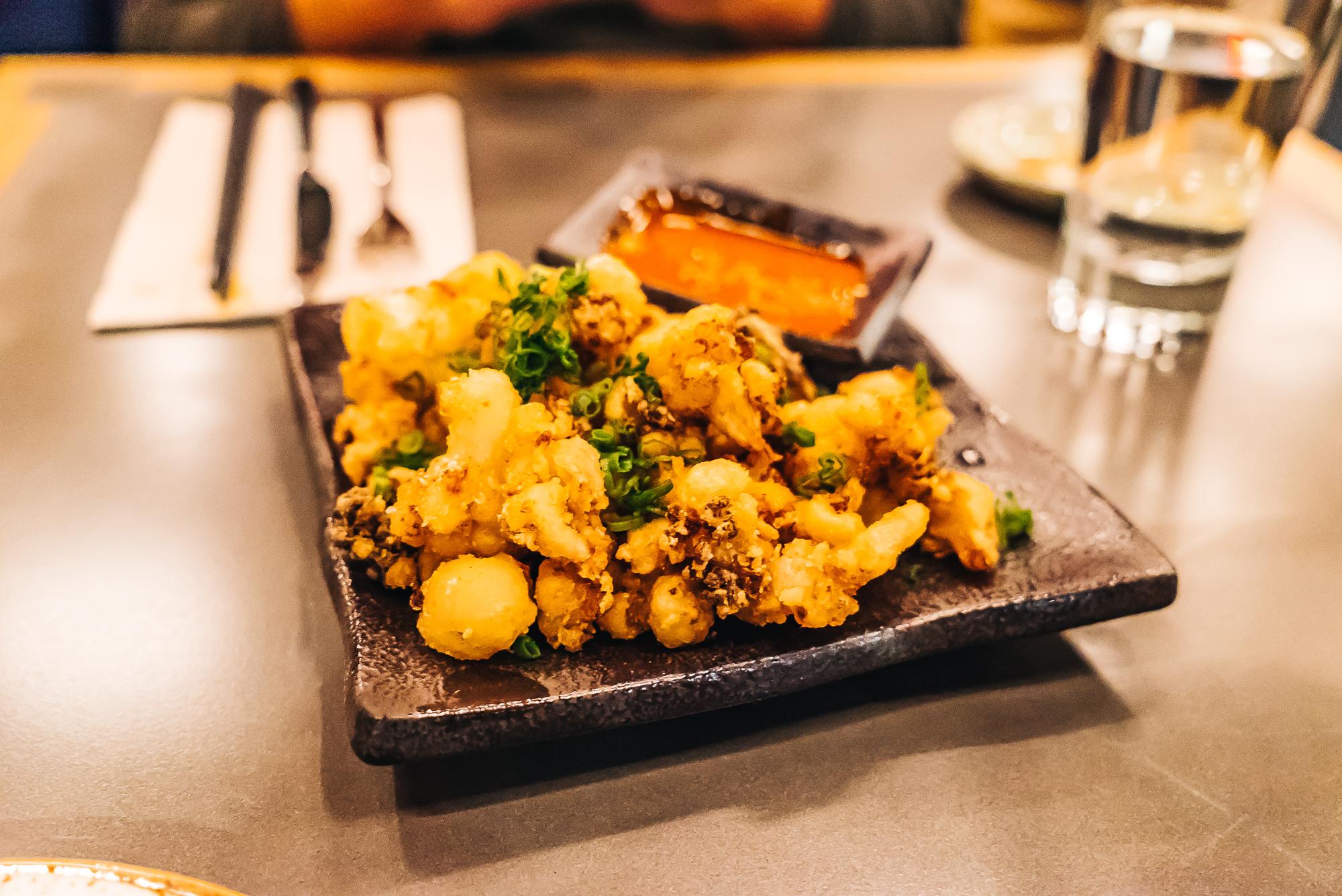 Hana Yasai - fried cauliflower