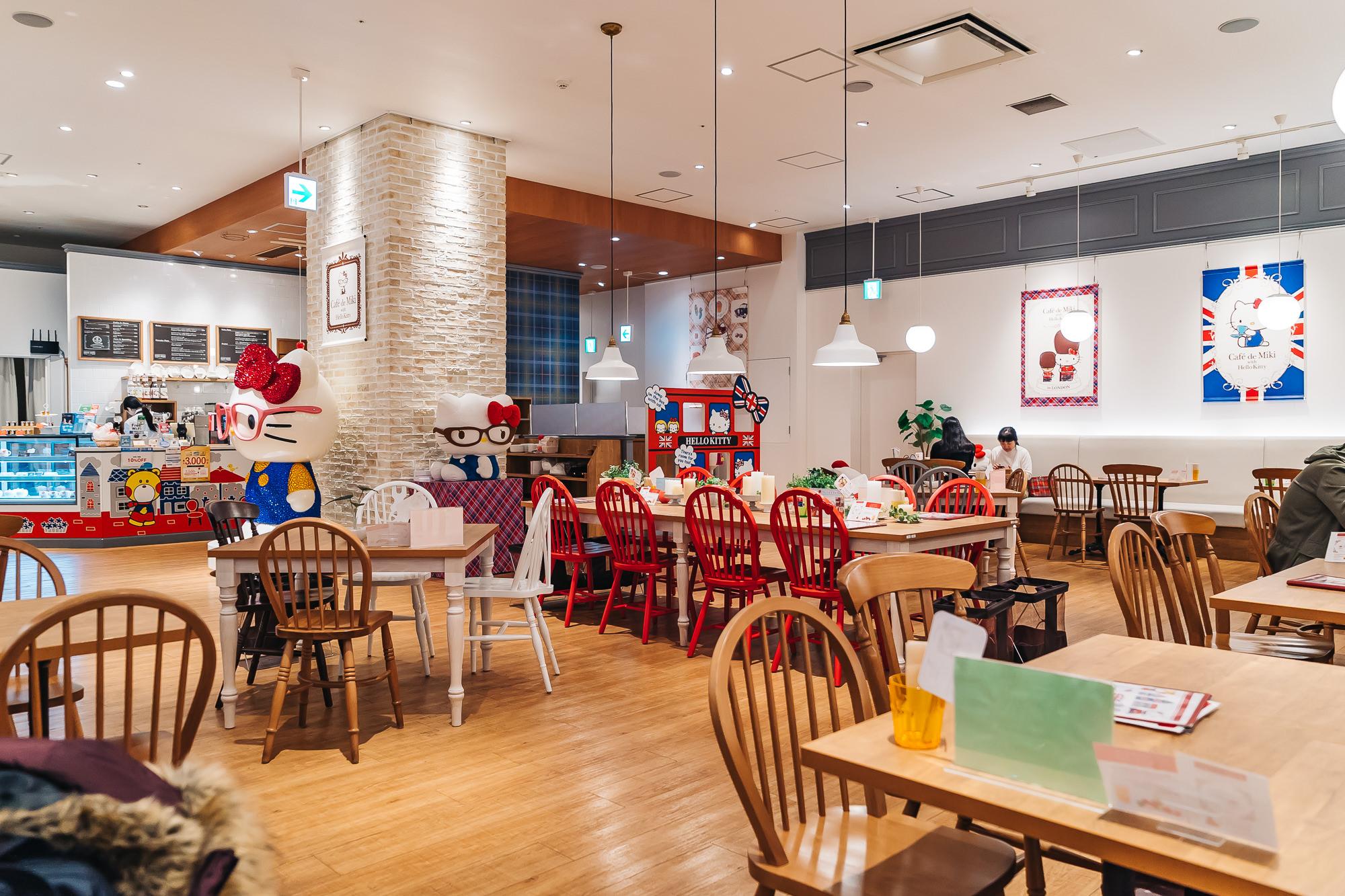 Hello Kitty Cafe - Cafe de Miki Odaiba, Japan