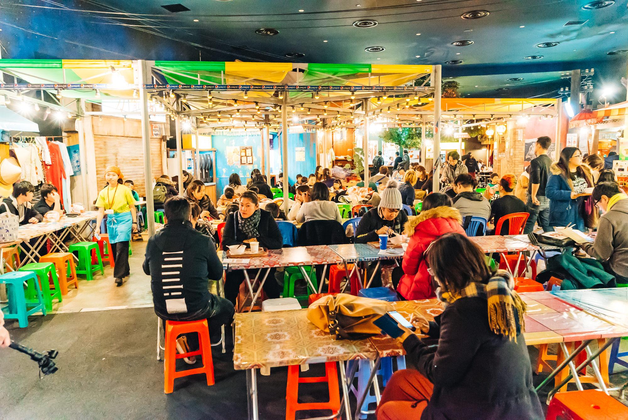 The noodles food court