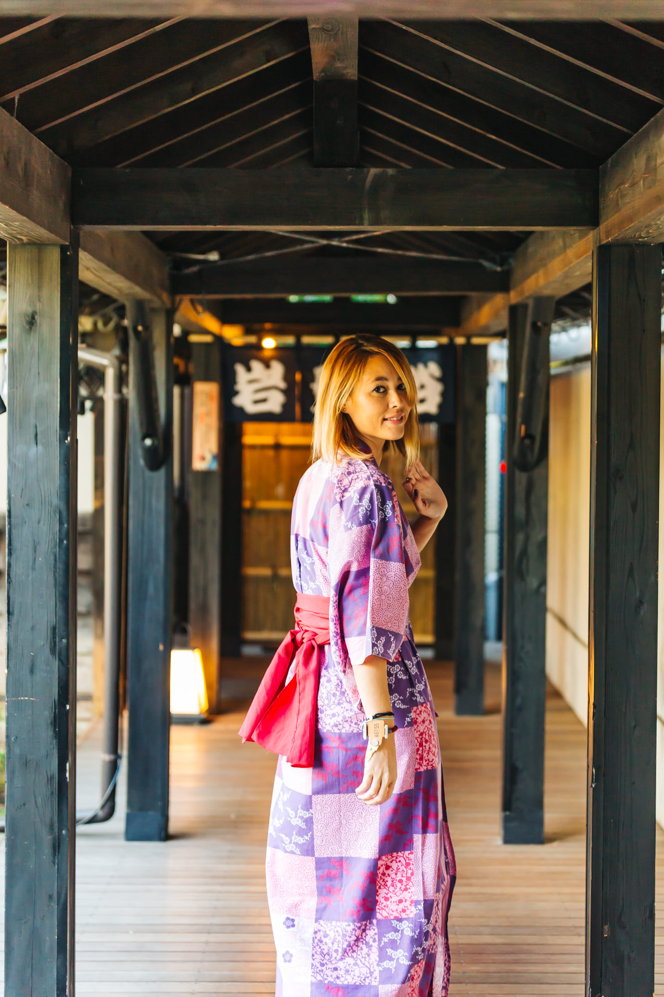 Loved the ambience at Oedo Onsen