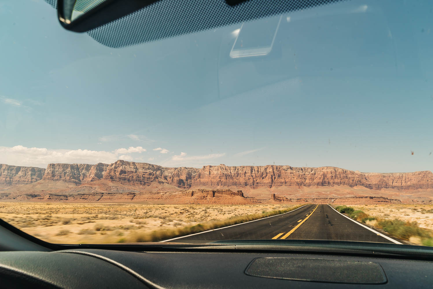 THE SCENIC ROUTE WAS SUCH A BREATHTAKING VIEW FOR MILES AND MILES