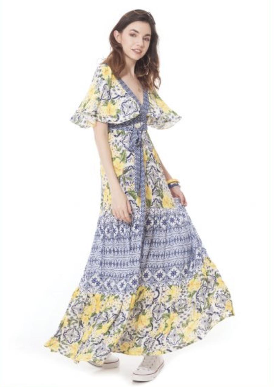 California MoonRise Dress
