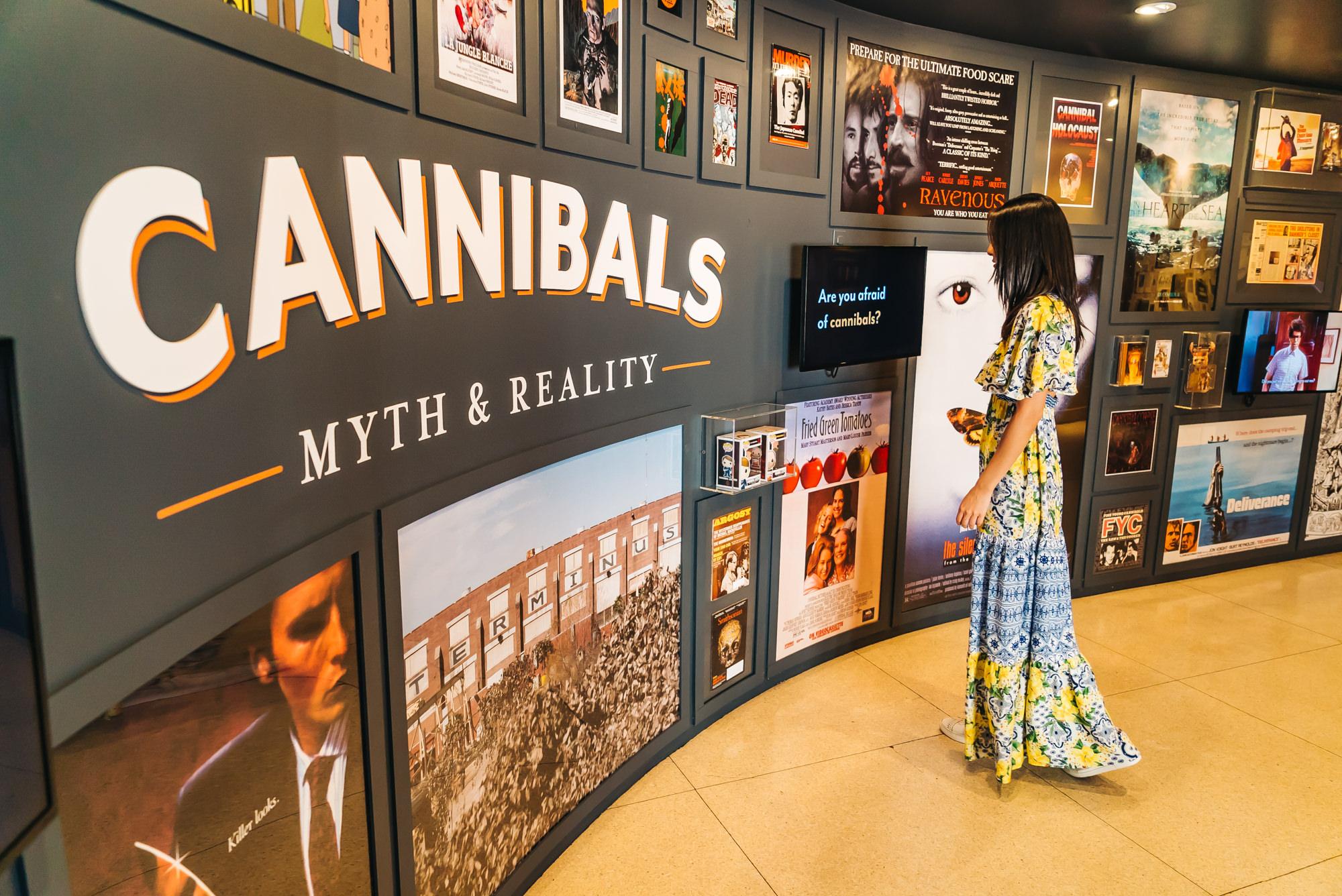 Cannibals Exhibit Entrance