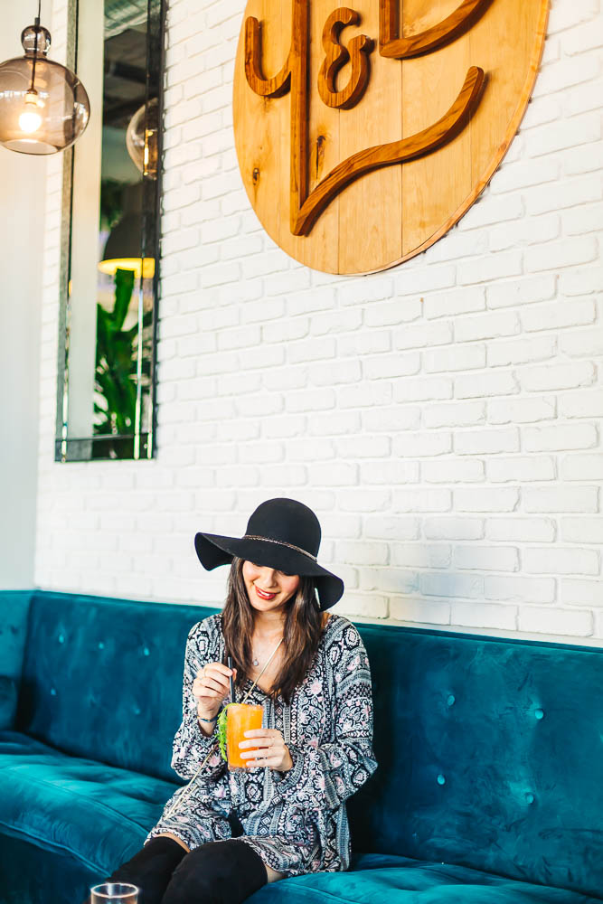 FLOPPY HAT FROM   SAKS OFF 5TH