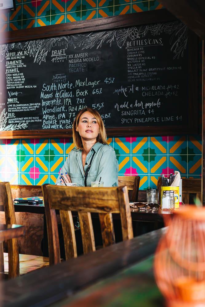 Del Sur Mexican Cantina Dining Area