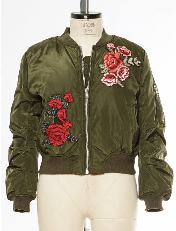 California MoonRise Bomber Jacket