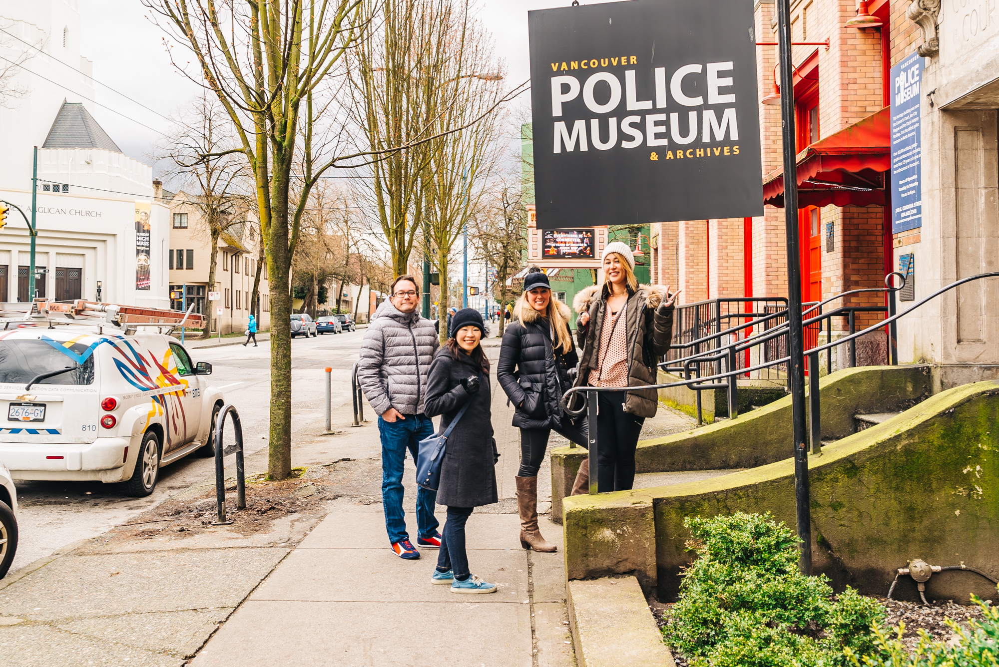 Entrance into the vancouver Police Museum
