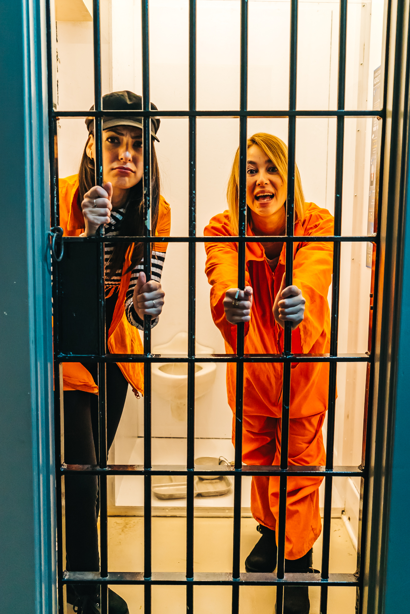 Good times in that jail cell