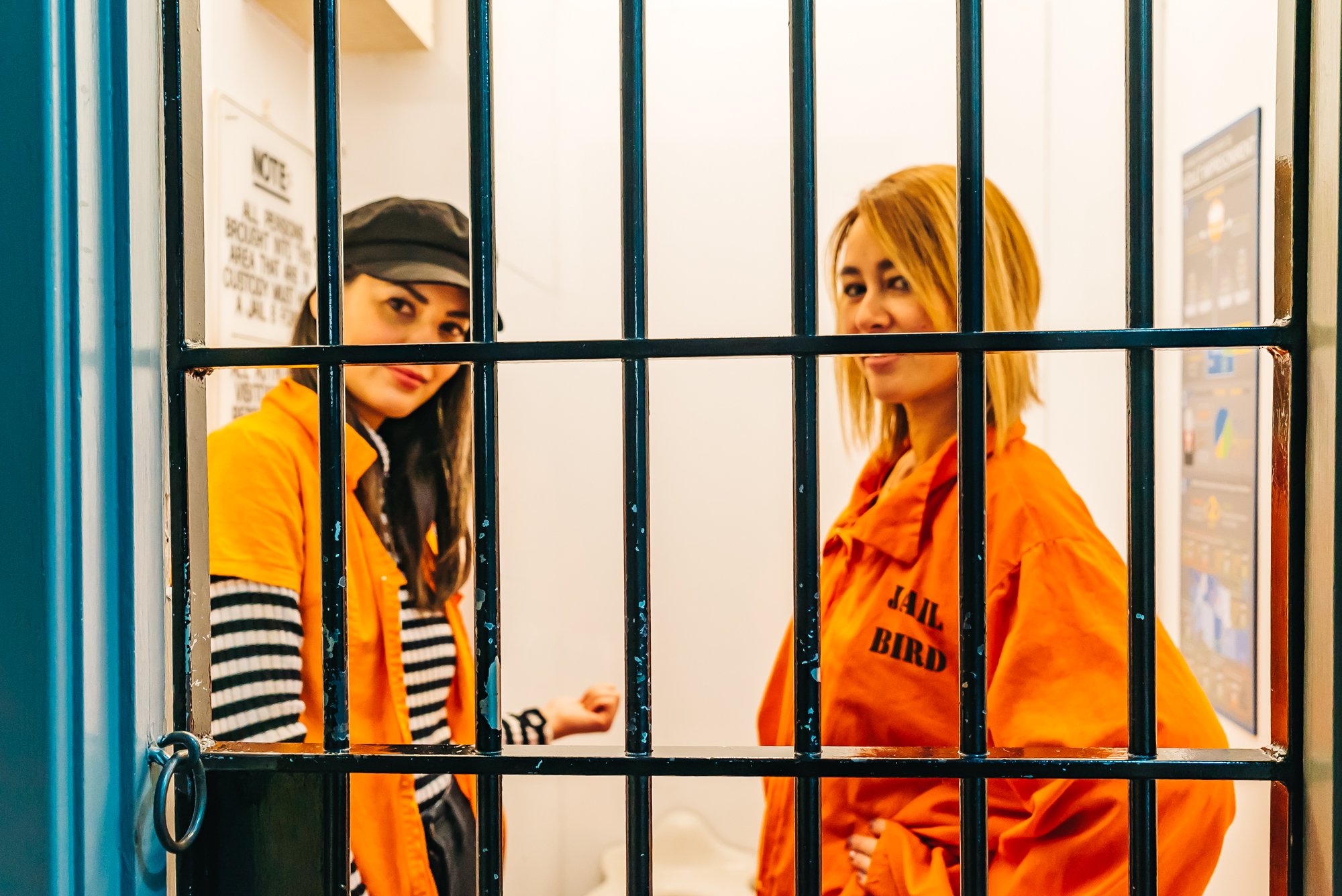 EXPERIENCING LIFE INSIDE A JAIL CELL
