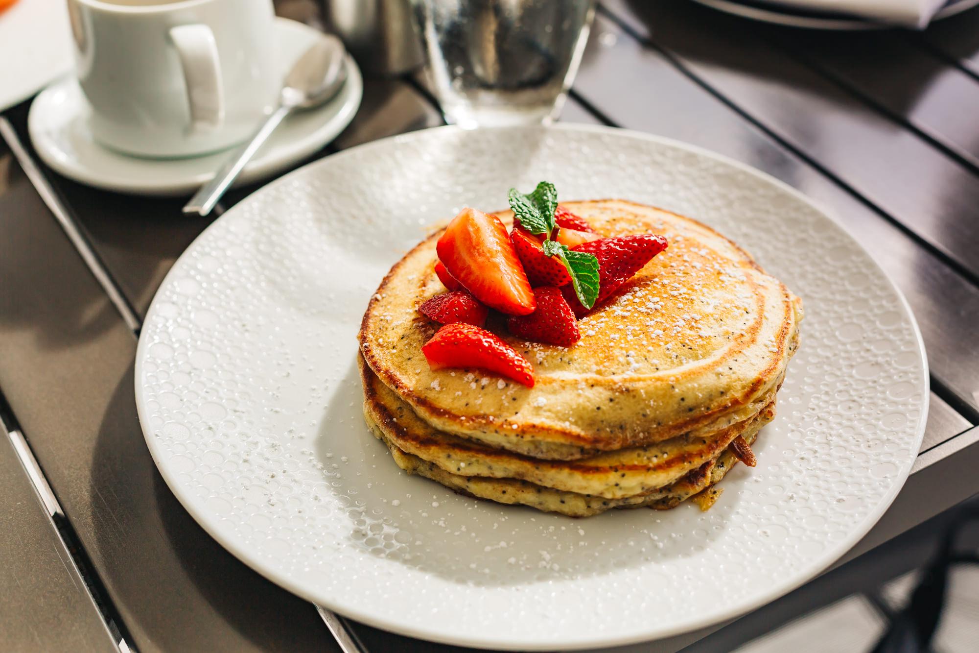 The amazing Lemon Poppyseed Pancakes