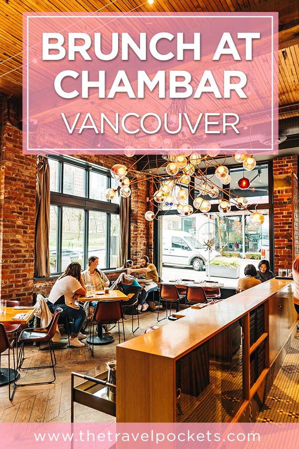 PINTEREST Chambar Vancouver