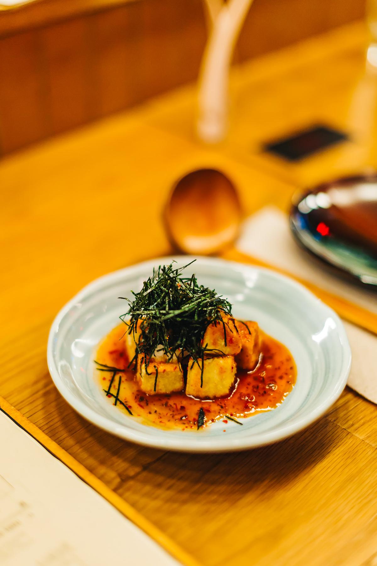 AGEDASHI TOFU - 揚げ出し豆腐