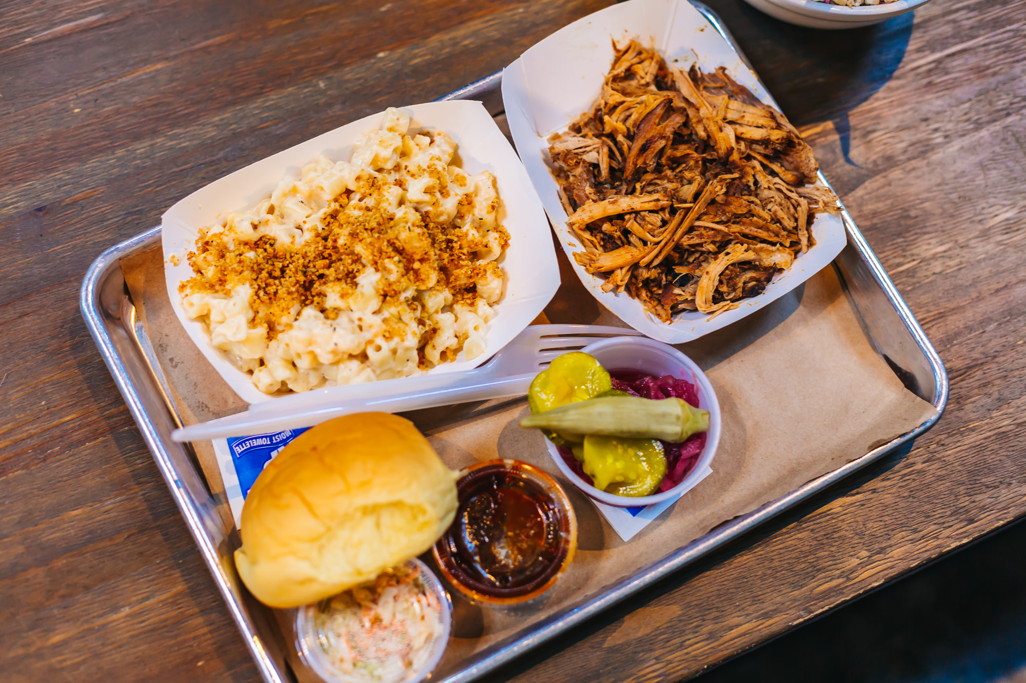 PULLED PORK BBQ & MAC AND CHEESE