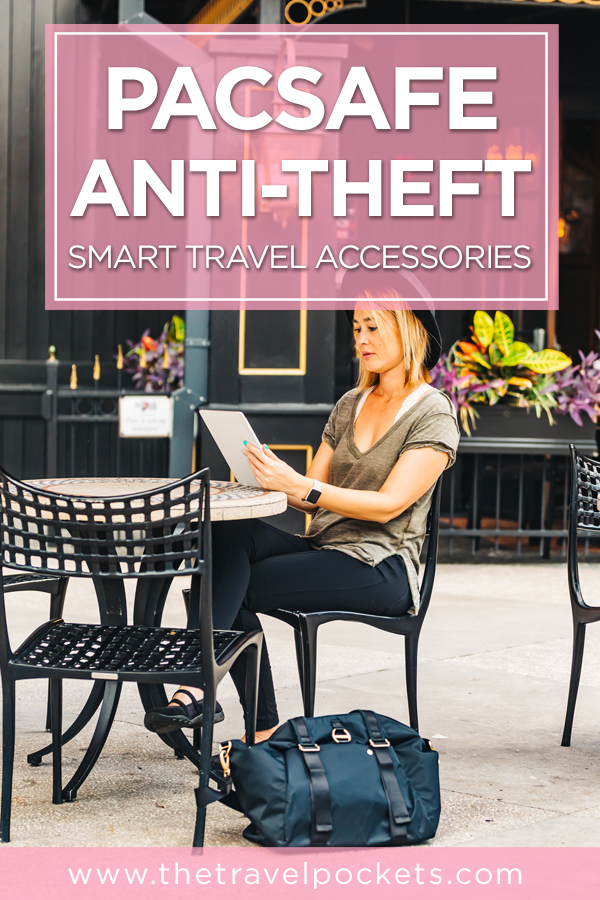 Pacsafe Anti-Theft Smart Travel Accessories