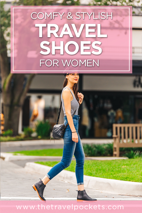 Comfy and stylish travel shoes for women
