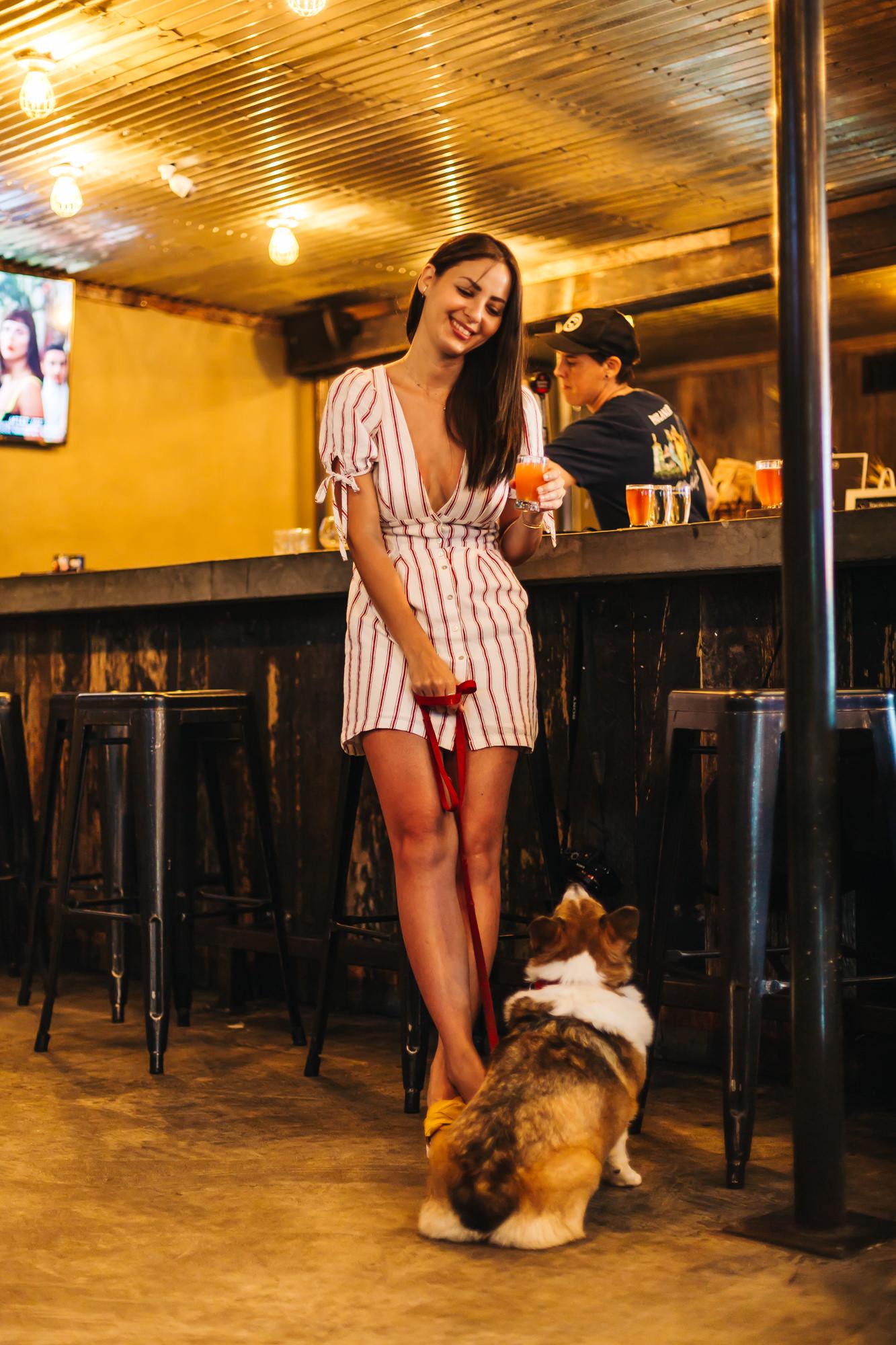 dress   forever21   / sandals   seychelles
