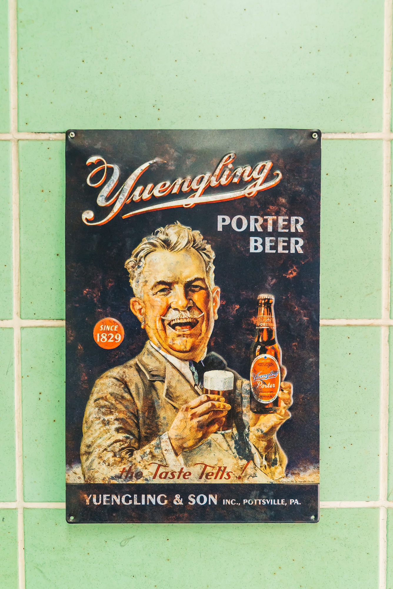 love these old yuengling ads