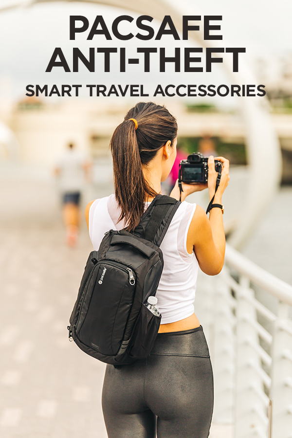 When Style Meets Security with PacSafe's Anti-theft Travel