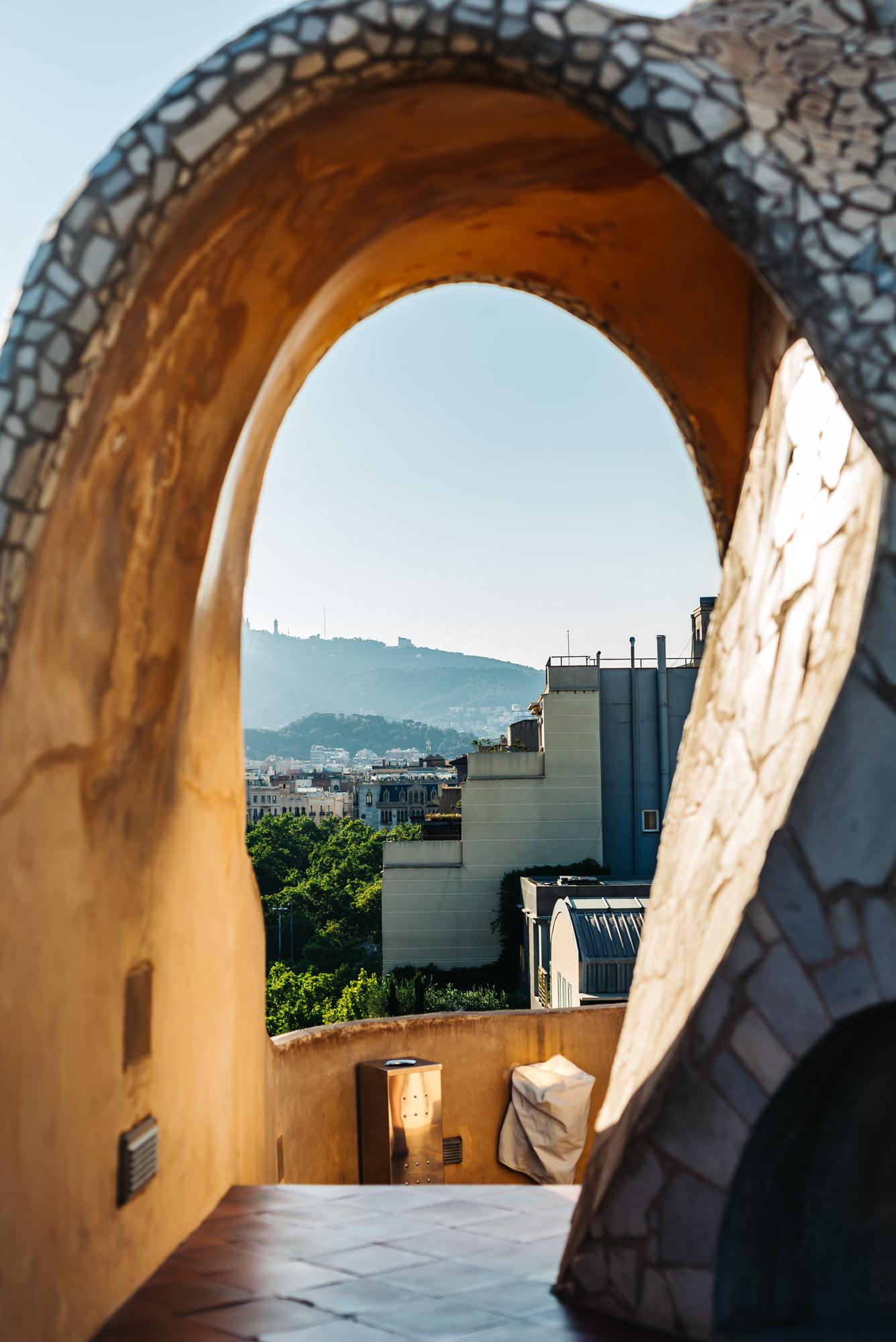 Gaudi liked to replicate nature in his work