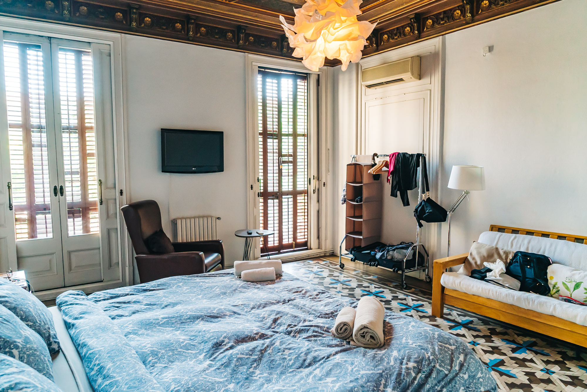 Airbnb in Barcelona built in the 1800's
