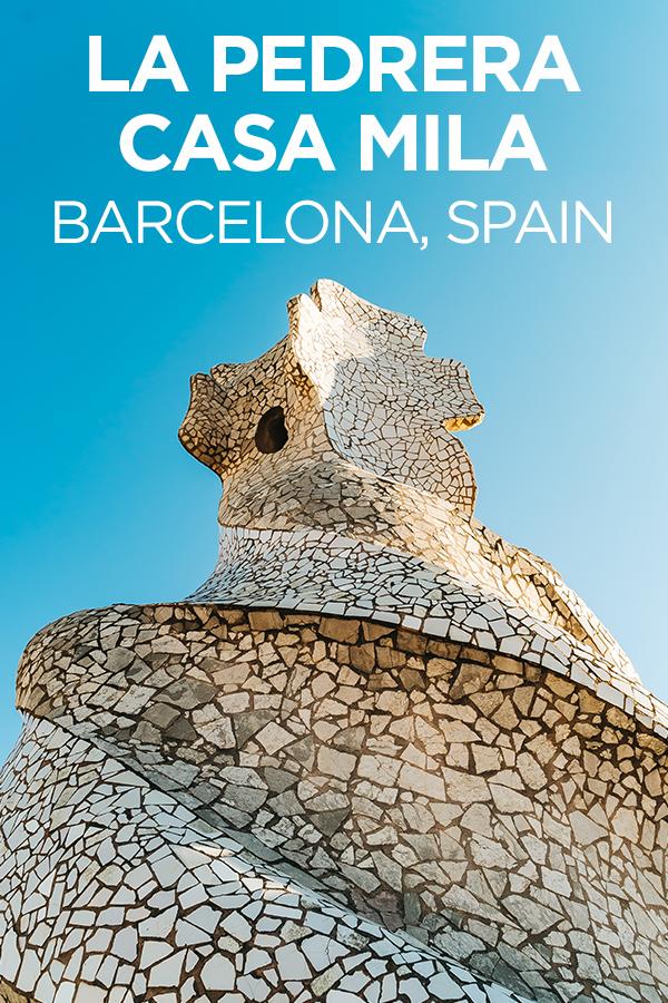 Casa Mila La Predada #Barcelona #Spain #Gaudi