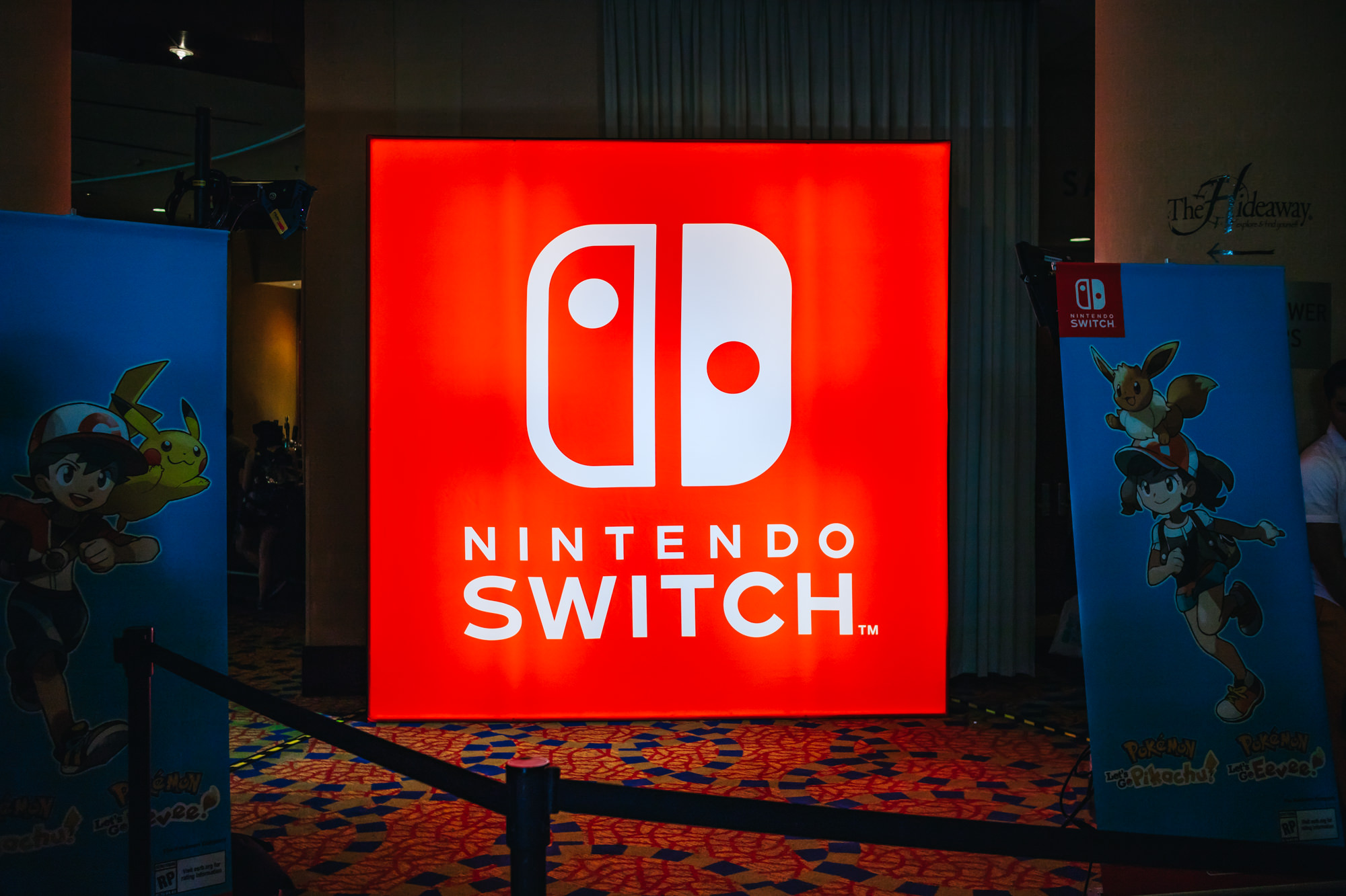 2018 Comic Con Nintendo Lounge
