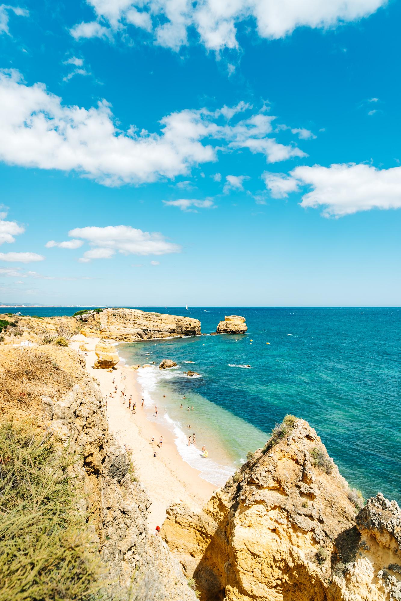 Surreal views at Sao Rafael Beach