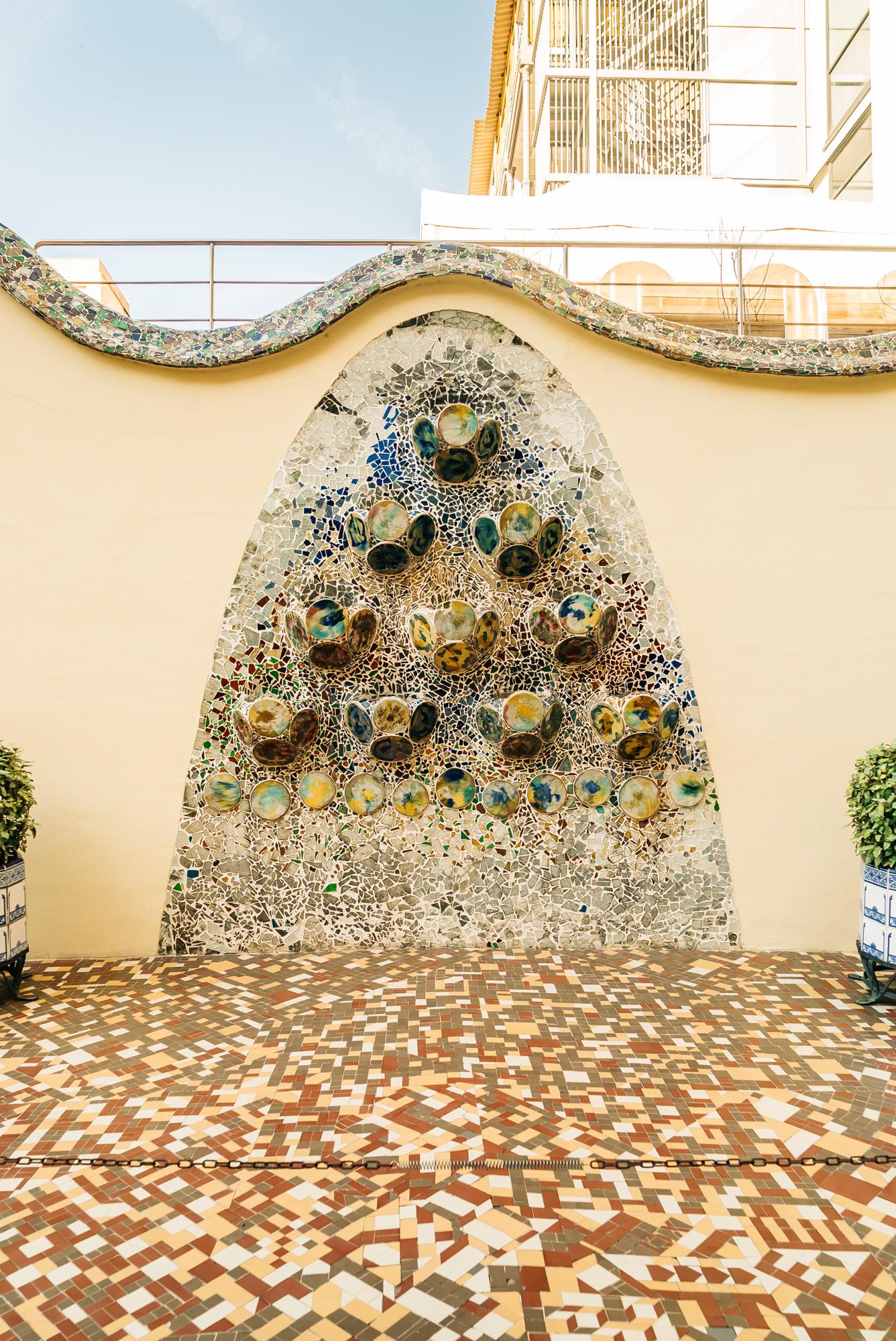 Casa Batlló courtyard