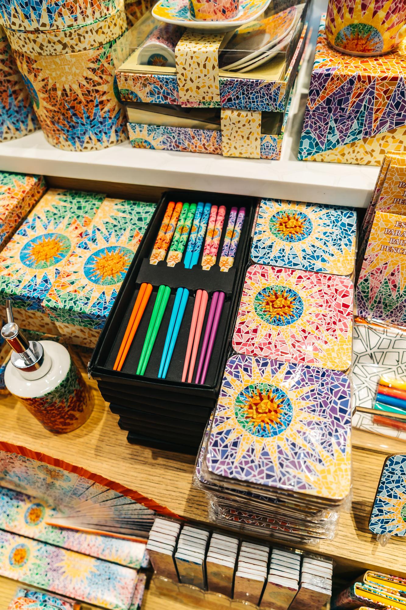 Colorful gifts at Casa Batlló