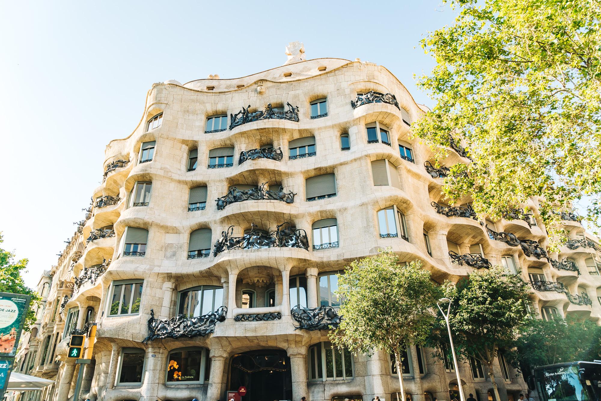 Casa Mila facade
