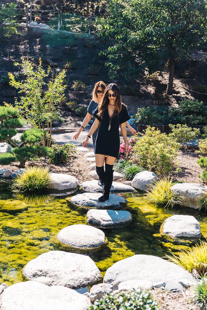 Roaming around the Japanese Friendship Garden at Balboa Park