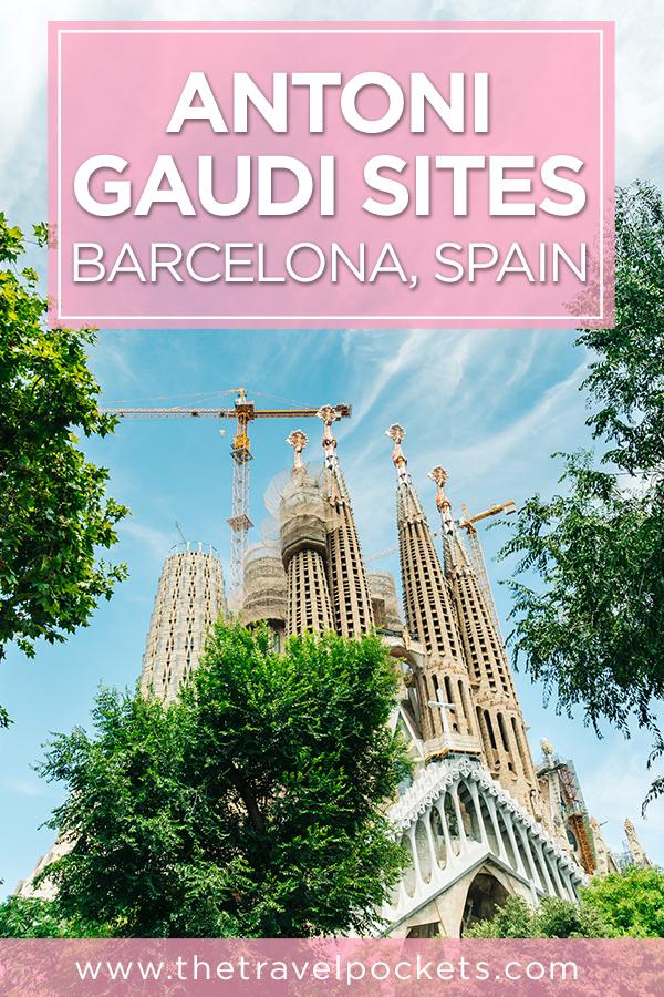 Top Antoni Gaudi Sites in #Barcelona #Spain #Europe