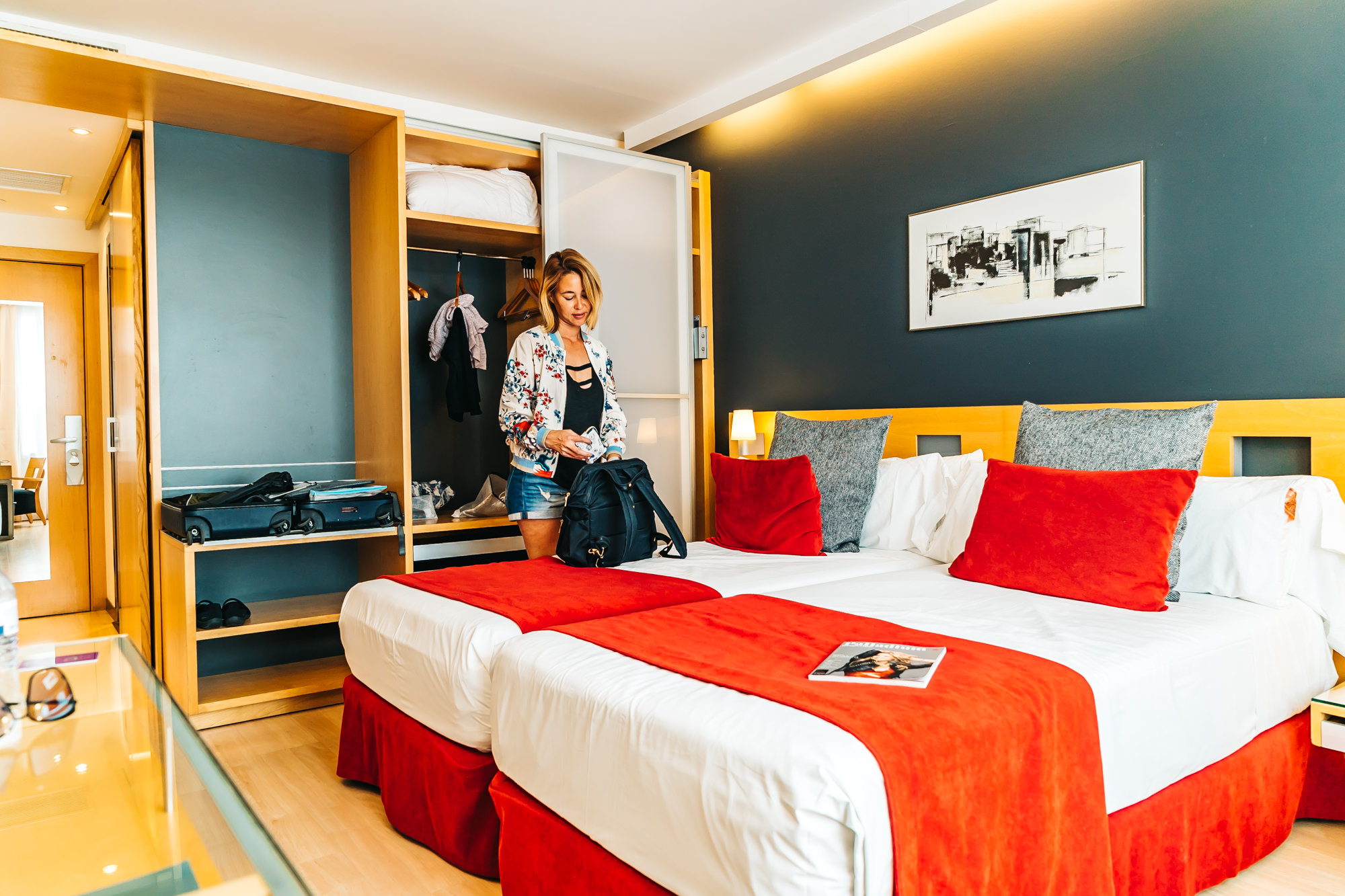 Modern, clean and spacious room at Ayre Hotel Caspe