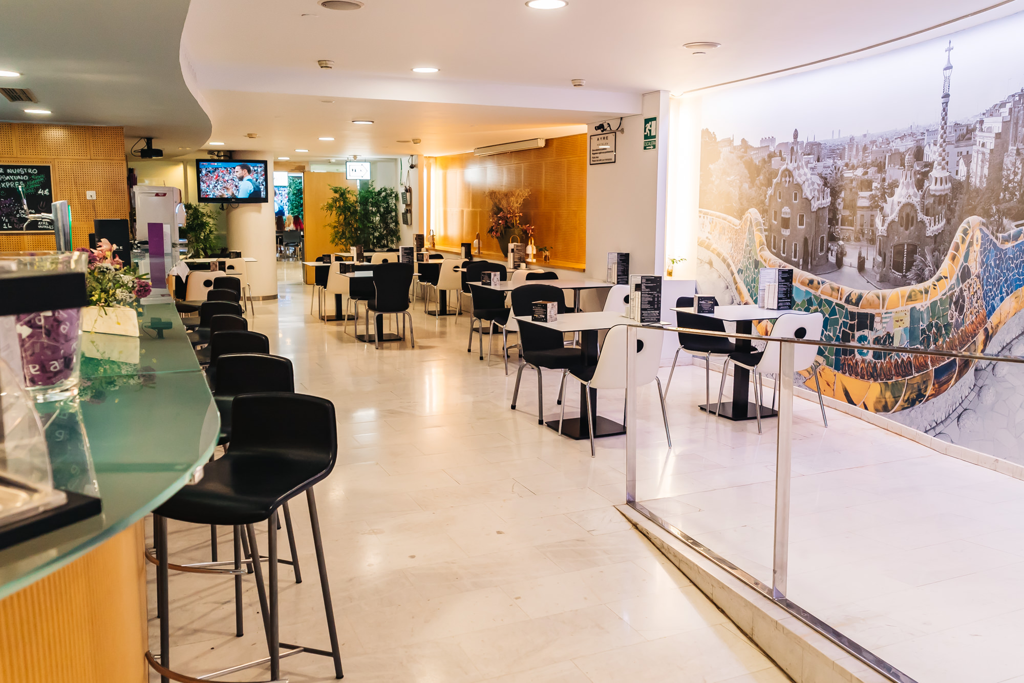 Ayre Hotel Caspe Cafeteria