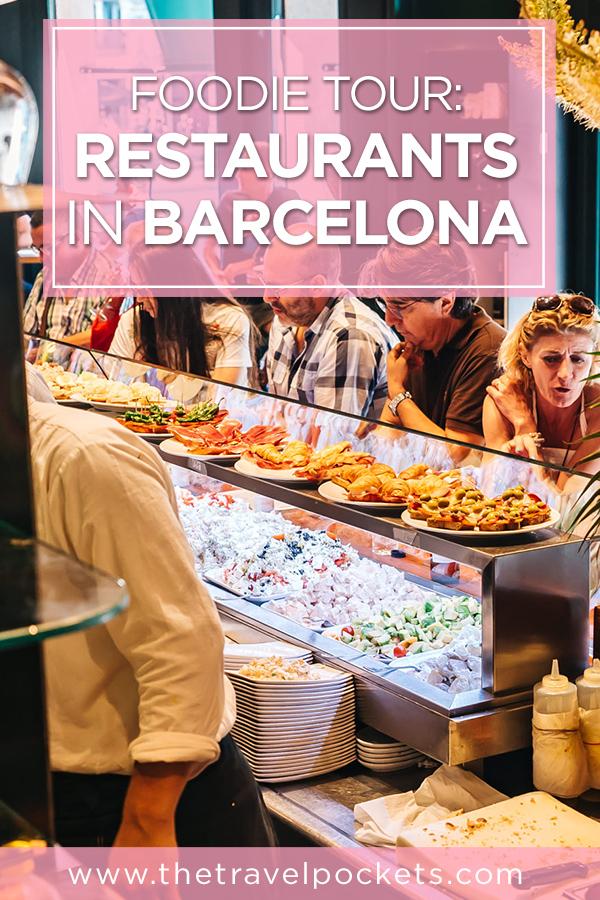#Barcelona restaurants #Spain #Europe #foodie