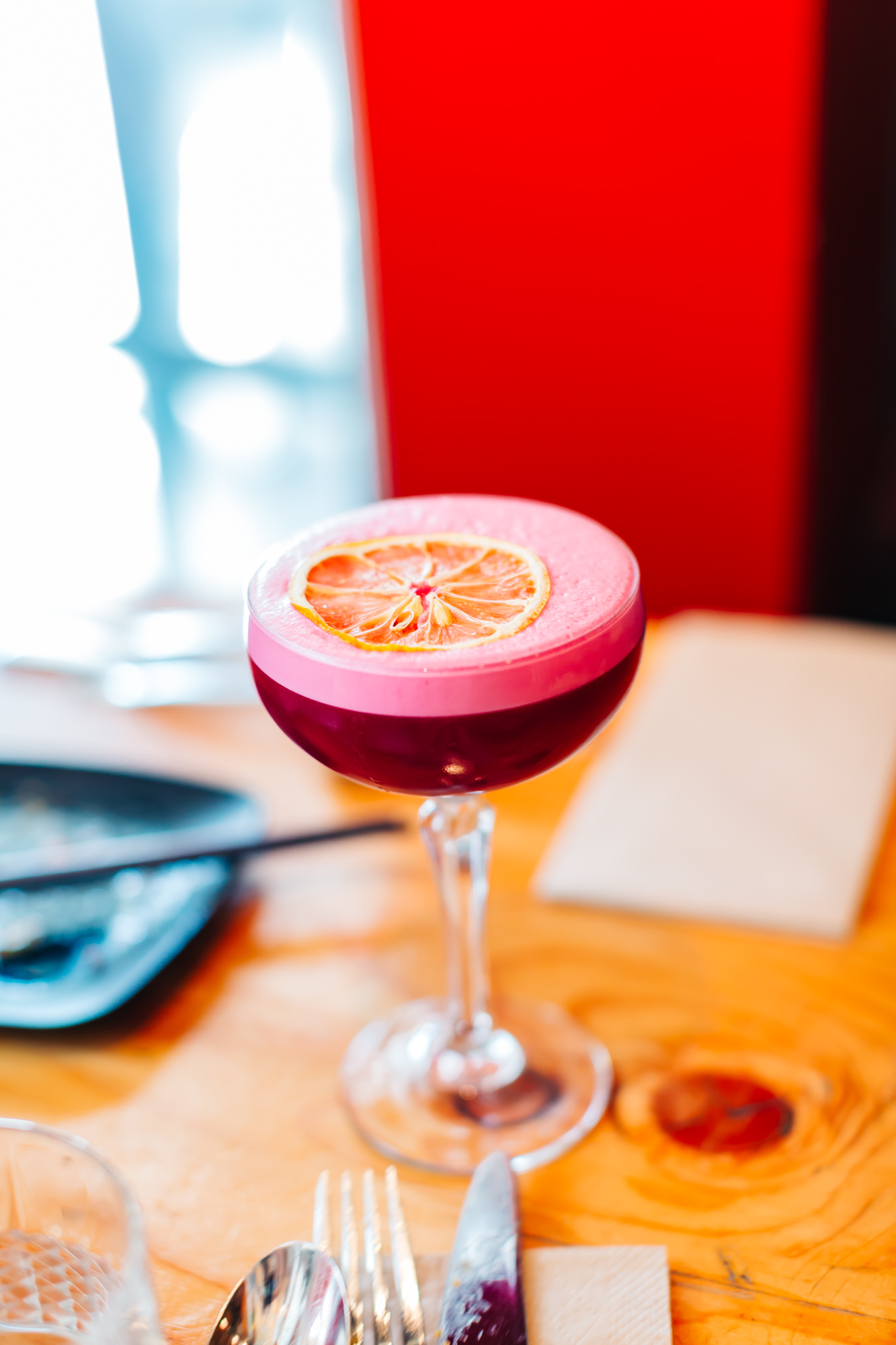 Gin Beetroot Sour