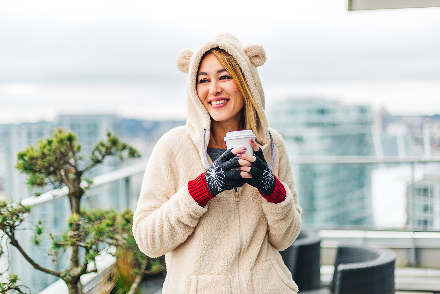 "Bearpaw   Hoodie   // Bearpaw   Fingerless Gloves     // Use Code "" BPAMBCW "" FOR 20% OFF YOUR BEARPAW.COM ORDER"