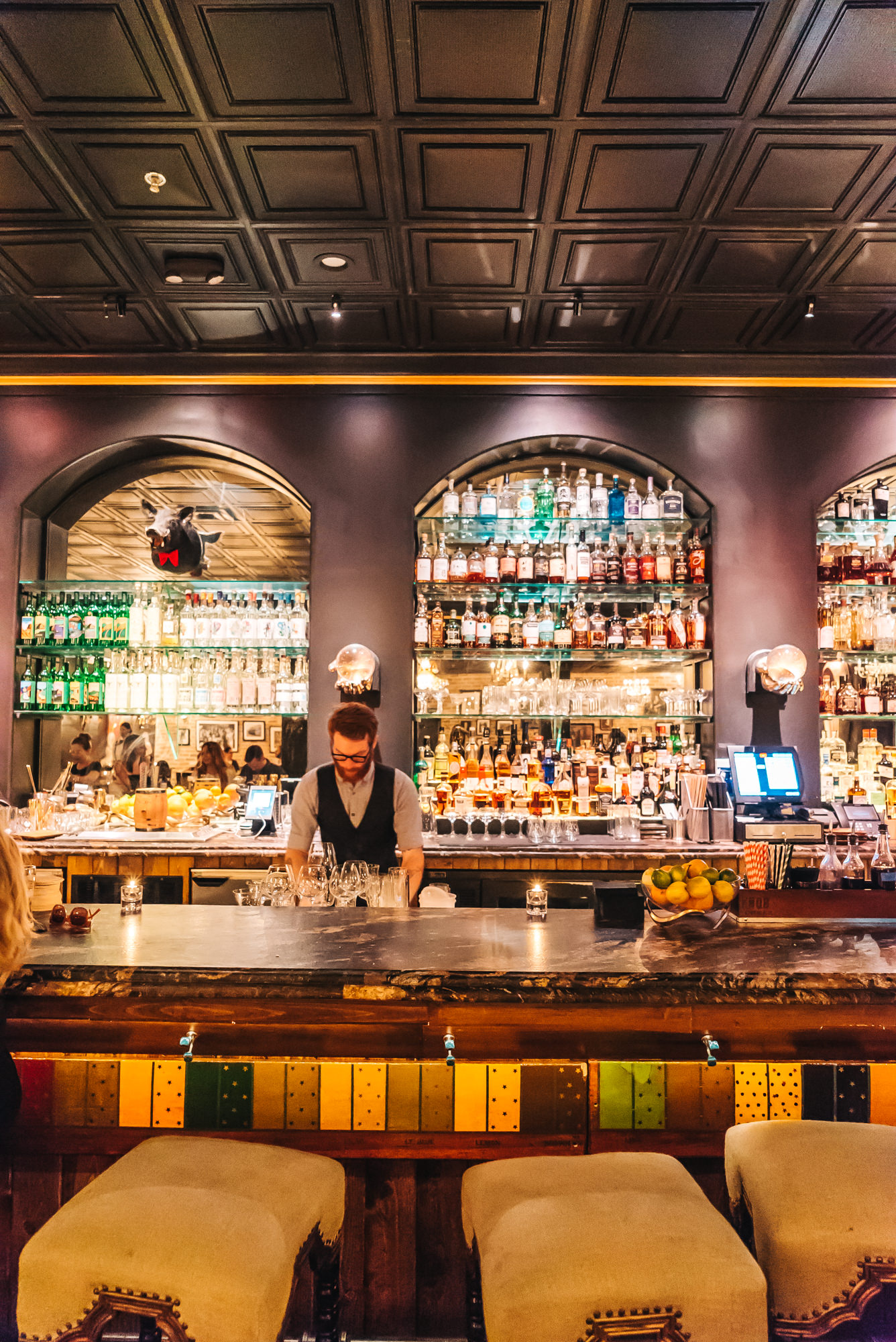 C.W. Gin Joint's Gorgeous bar