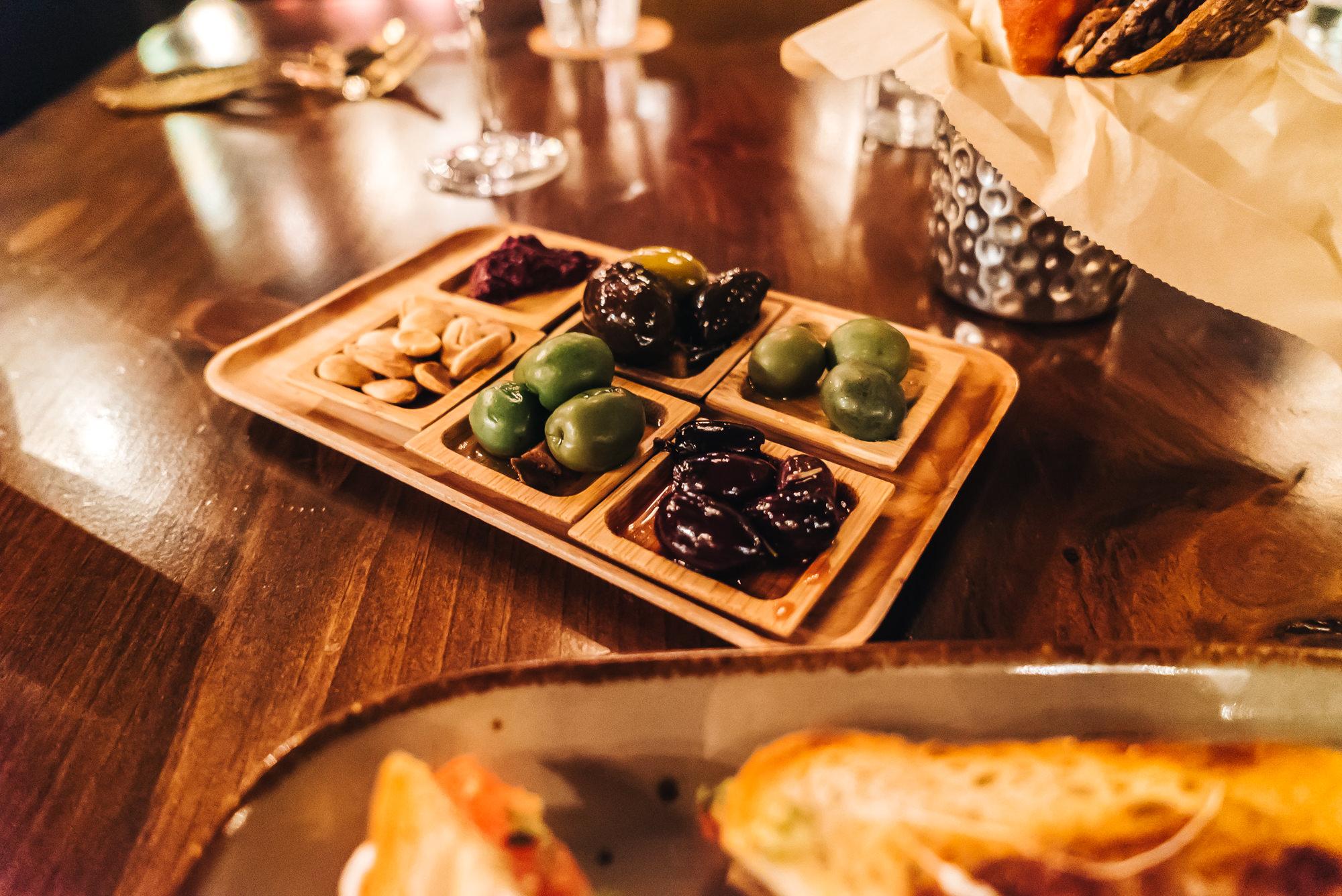 Olive Bar appetizer