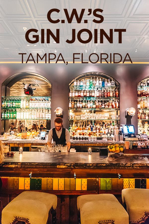 Gin Joint #Tampa #Florida #bar