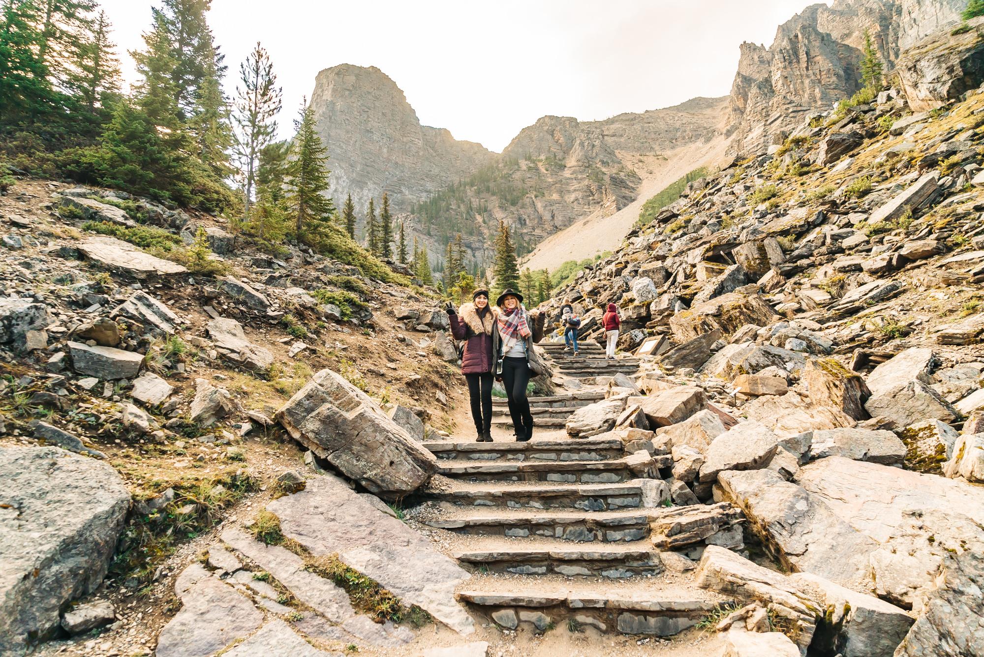 Starting the Rockpile Trail
