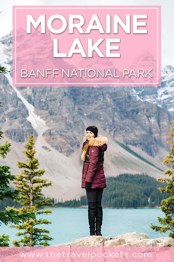 Moraine Lake #Banff #NationalPark #Canada