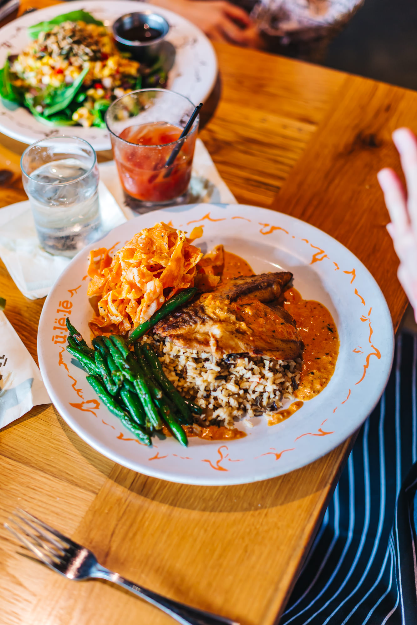 Delicious dishes at Ulele