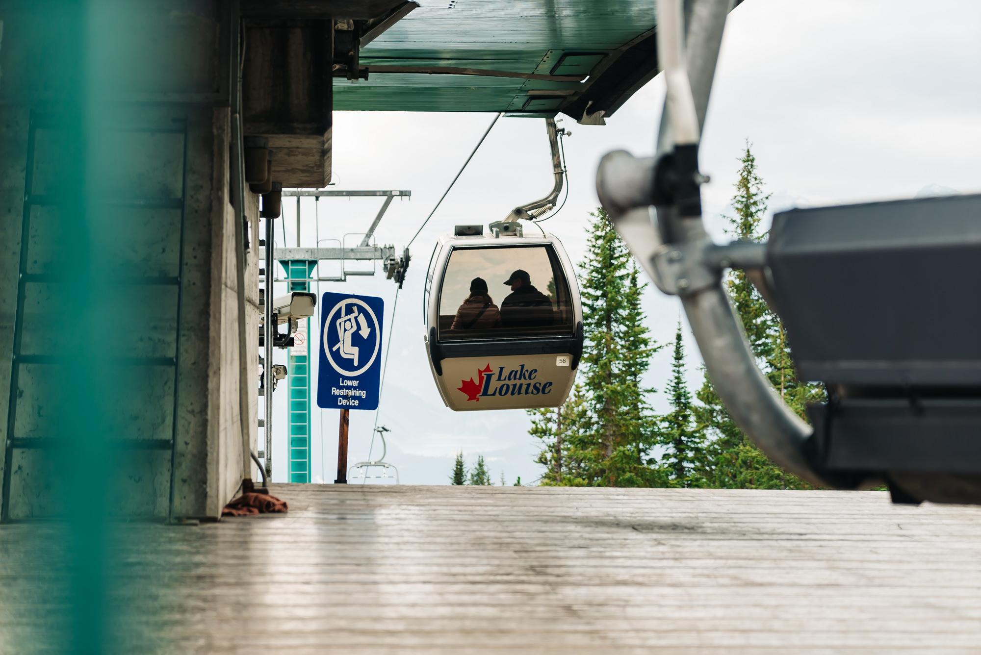 Lake Louise Gondola #Banff #LakeLouise