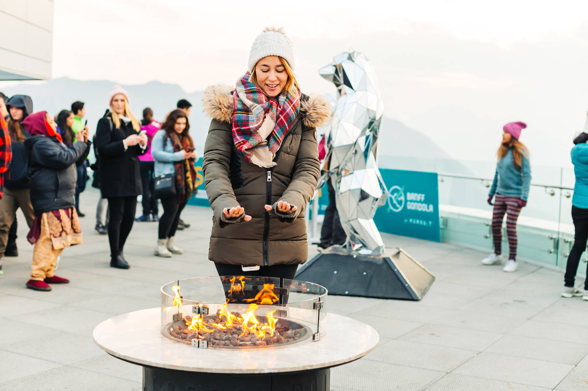 Banff Gondola Summit
