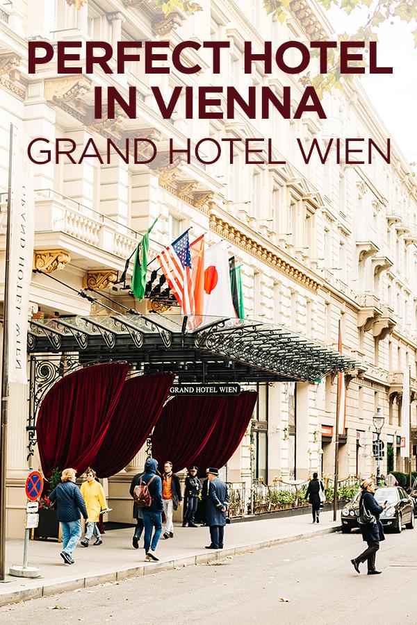 Grand Hotel Wien #Vienna #Austria #Europe #hotel