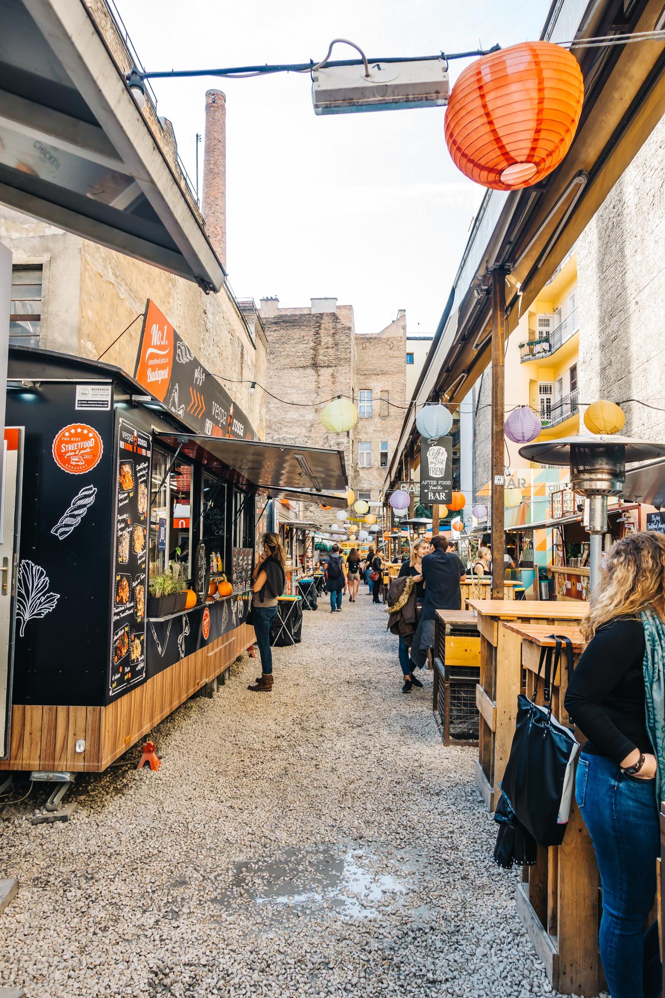 Street food of Budapest
