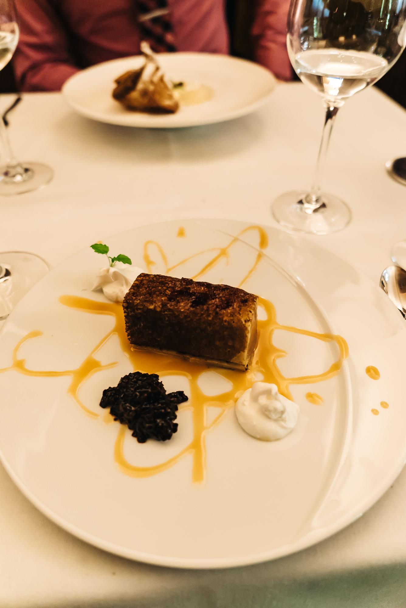Beautiful chocolate dessert